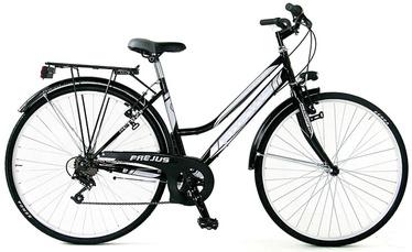 "Jalgratas Frejus, valge/must, 28"""