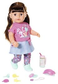 Nukk Zapf Creation Baby Born Soft Touch Sister 43cm Brown