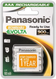Panasonic Rechargeable Evolta AAA 4pcs