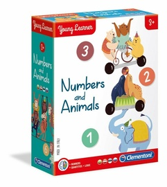 Lauamäng Clementoni Numbers And Animals 50591