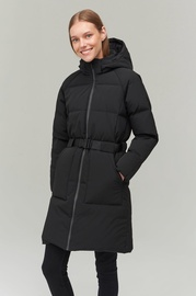 Audimas Puffer Down Coat With Membrane Black XXL