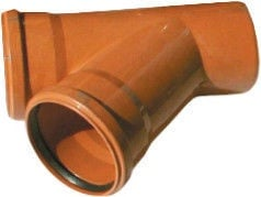 OEM 20390 Sewer Pipe 2-Way Connector 45° 200/200mm