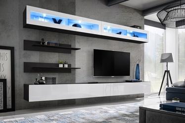 ASM Fly I LED Living Room Wall Unit Set White/Black