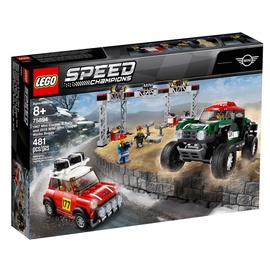 Konstruktor LEGO®Speed Champions 75894 1967 Mini Cooper S Rally ja 2018 MINI John Cooper Works Buggy