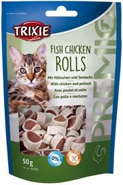 Trixie 42702 Premio Rolls with Chicken and Pollock Snack 50g
