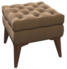 Пуф Nik Mebel MN, коричневый, 45x45x41 см