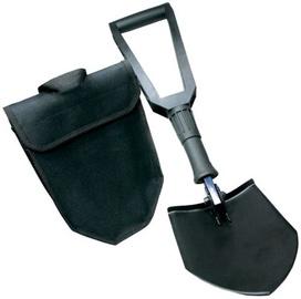 EuroTrail Double Folding Shovel