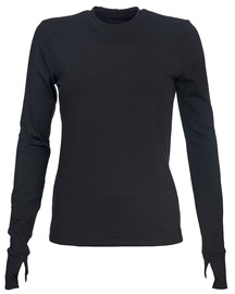 Bars Womens Long Sleeve Shirt Black 66 M