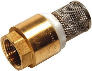 """Sferaco Foot Valve with Filter Brass 1 1/4"""""""