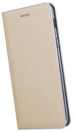 TakeMe Metal Edge Shine Book Case For Samsung Galaxy S10e Gold