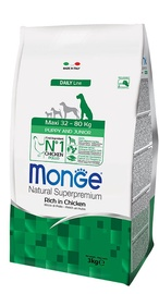 Monge Daily Line Maxi Puppy and Junior Rich in Chicken 3kg