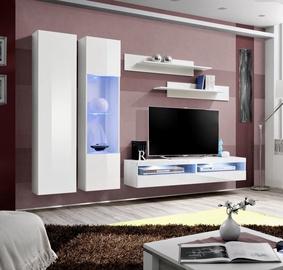 ASM Fly O15 Living Room Wall Unit Set White