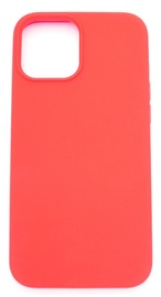 Evelatus Silicone Back Case With Bottom For Apple iPhone 12 Pro Max Red