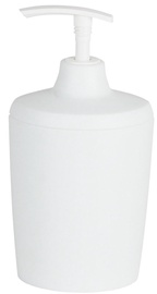 Spirella Lemon Opaque Soap Dispenser 8x16x7cm White