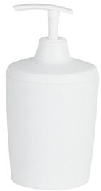 Spirella Lemon Opaque Soap Dispenser 8x16x7cm White