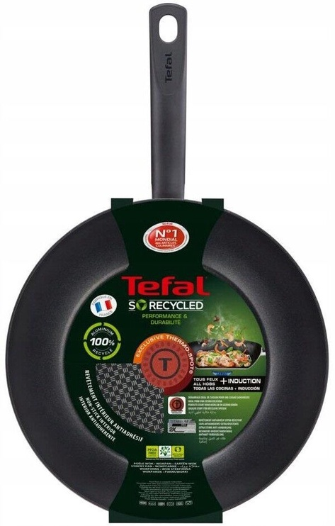 Tefal So Recycled G1101902 Wok Pan 28cm