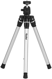 Rollei Compact Traveler Star S3 Plus Travel Tripod Silver