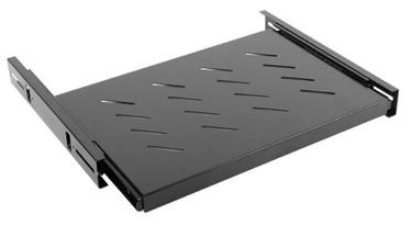 Lanberg Fixed Shelf 19'' 465x350mm Black