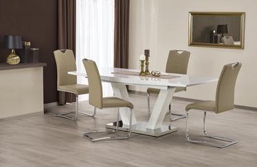 Söögilaud Halmar Vision White, 1600 - 2000x900x760 mm