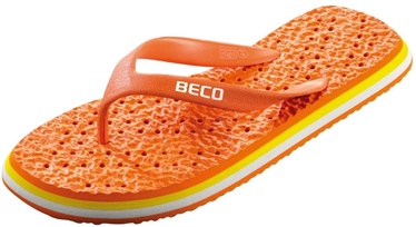 Beco 9013 V-Strap Slippers Orange 41