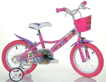 "Laste jalgratas Bimbo Bike Butterfly 16"""