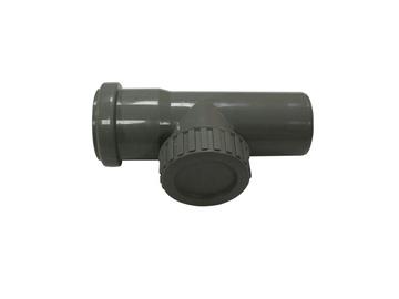 Magnaplast HTRE 3-Way Pipe Grey 50mm