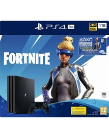MÄNGUKONSOOL PS4 PRO 1TB + MÄNG FORTNITE