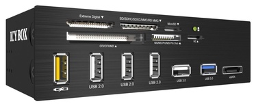 RaidSonic Icy Box 3,5'' IB-867 Card Reader w/Multiport Panel USB 3.0 eSATA