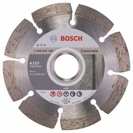 Bosch Diamond Cutting Disc 115x22.23x1.6mm