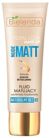 Bielenda Total Look Make-up Mattifying Fluid Foundation Nude Matt 30ml 02