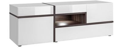 ТВ стол ASM RTV Cross White, 1500x500x520 мм