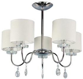 Candellux Estera 5X40W E14 Hanging Ceiling Lamp Chrome