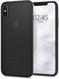 Spigen AirSkin Ultra Thin Back Case For Apple iPhone X/XS Black