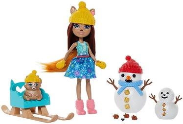 Nukk Mattel Enchantimals Snowman Face Off Set GNP16