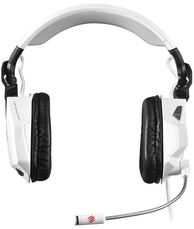 Mad Catz Cyborg F.R.E.Q. 5 Stereo Gaming Headset White
