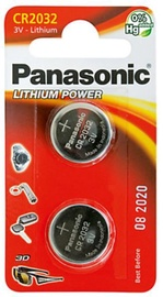 Panasonic CR2032 Lithium Battery x 2