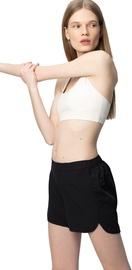 Audimas Light Stretch Fabric Shorts Black XS