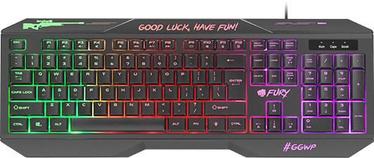 Mänguri klaviatuur Fury Hellfire 2 EN
