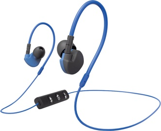 "Ha ma ""Run BT"" Clip-On Sports Earphones Blue"