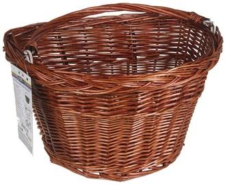 Good Bike Willow Bicycle Basket Brown