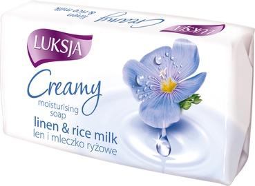 Luksja Creamy Linen & Rice Milk Moisturising Soap 90g
