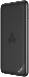 Baseus S10 Bracket Power Bank With Qi Charging 10000mAh Black