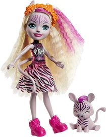 Mattel Enchantimals Zadie Zebra & Ref GTM27