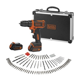 Black & Decker BDCDD12BAFC-QW Cordless Drill with Accessories