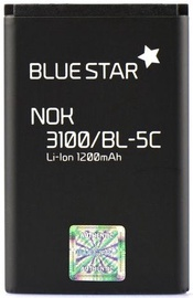 BlueStar Battery For Nokia 3110c/2700C/X2-01/X2-05 Li-Ion 1200mAh Analog
