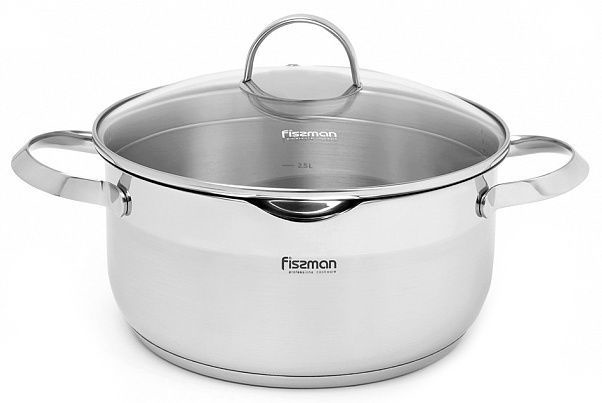 Fissman Callisto Casserole With Glass Lid D24cm 5l