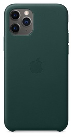 Apple Leather Back Case For Apple iPhone 11 Pro Green
