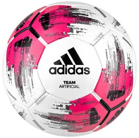 Adidas Team Artificial Ball White/Pink Size 4