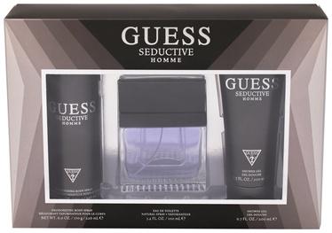 Guess Seductive Man 100ml EDT + 200ml Shower Gel + 226ml Deodorozing Body Spray