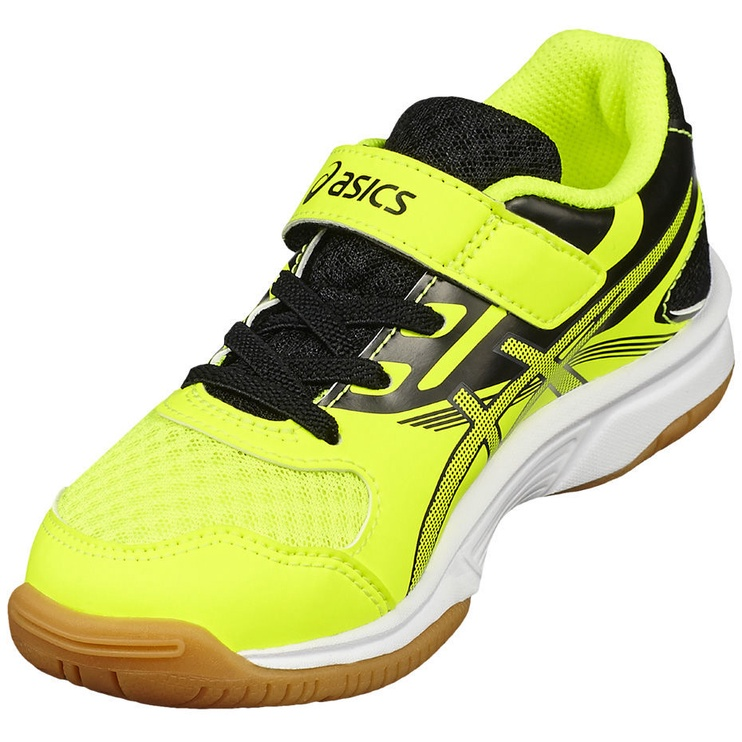 Asics Kids Volleyball Shoes Upcourt 2 Ps C735Y-0795 Yellow 33